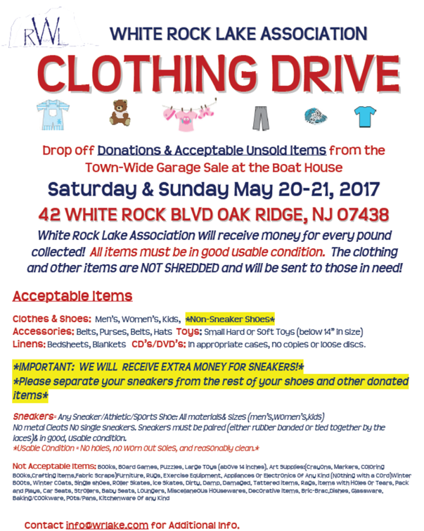 2017 Clothing Drive